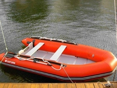 Saturn 13' SD385 Inflatable Sport Boat with Plywood floor