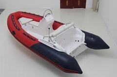 Fiberglass Inflatable Boat rib boat