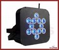 新款扁型12*15W 五合一高亮度LED户外帕灯 1