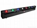 LED全彩八眼光束旋转Bar灯