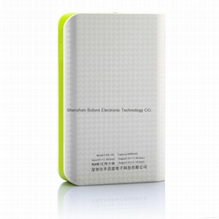 2014 newest  8400mAh dual usb port mobile battery pack  for smatphones