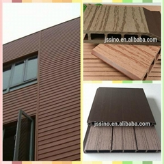150*25hollow wpc outdoor floor