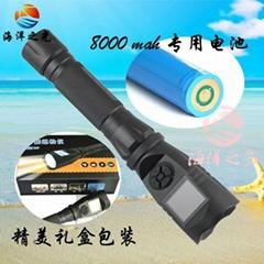 強光攝像手電筒