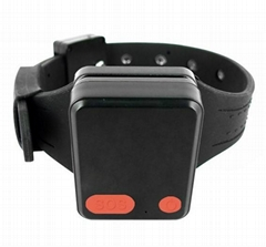 GPS prisoner offender Tracker, wristband cut-off-proof MT60X, Ublox GPS Chipset
