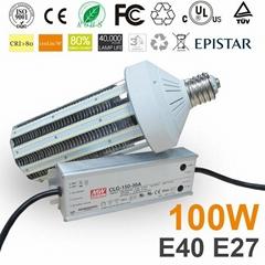 100W E40 CE RoHS gas tation canopy light