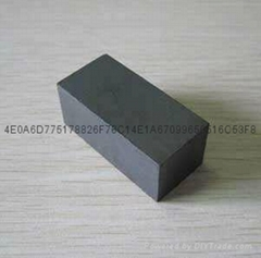 上海磁鐵廠家直銷鐵氧體普磁 黑色普磁 大方塊磁鐵
