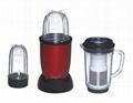 3 in 1 food blender with 110v to 240v