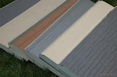 金屬雕花鍍鋁鋅復合保溫板
