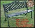鑄鐵小區常用公園椅
