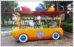 卡通儿童公園售貨車