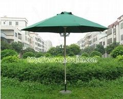 公園戶外太陽傘中柱傘