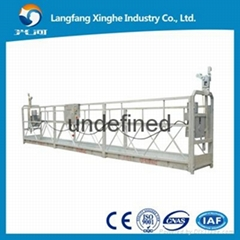 Steel suspended scaffolding working platform ZLP800