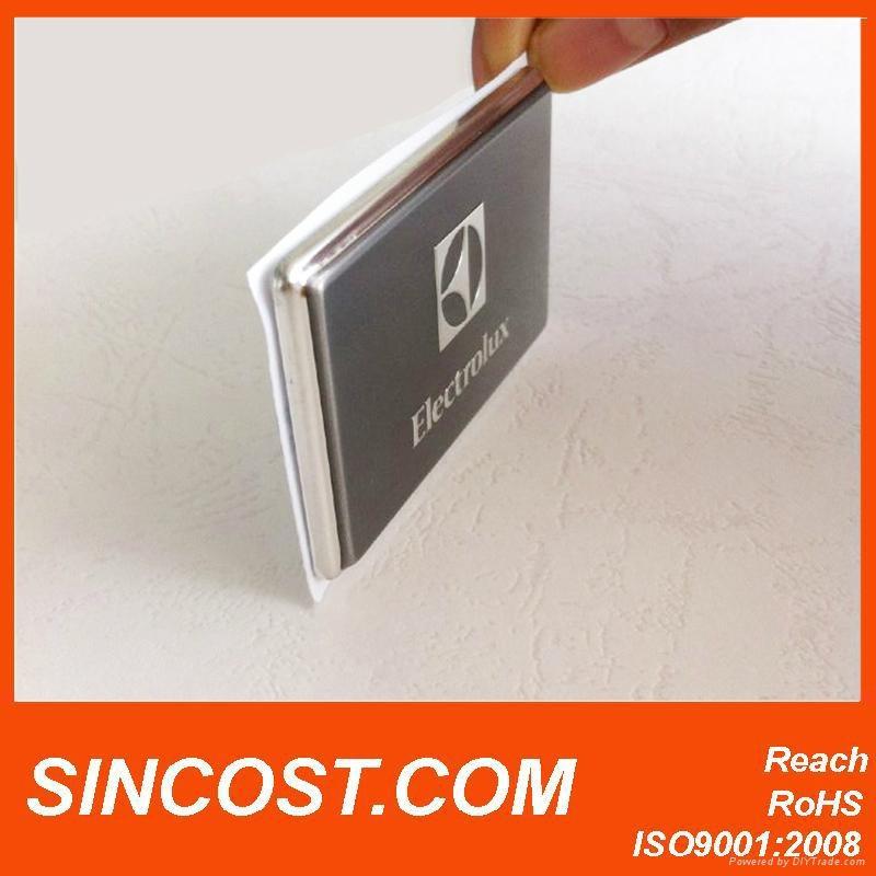 2014 metal stickers aluminum logo sticker stamping logo metal craft design namep 1