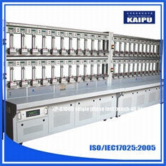 KP-S1000 single phase energy meter calibration test bench