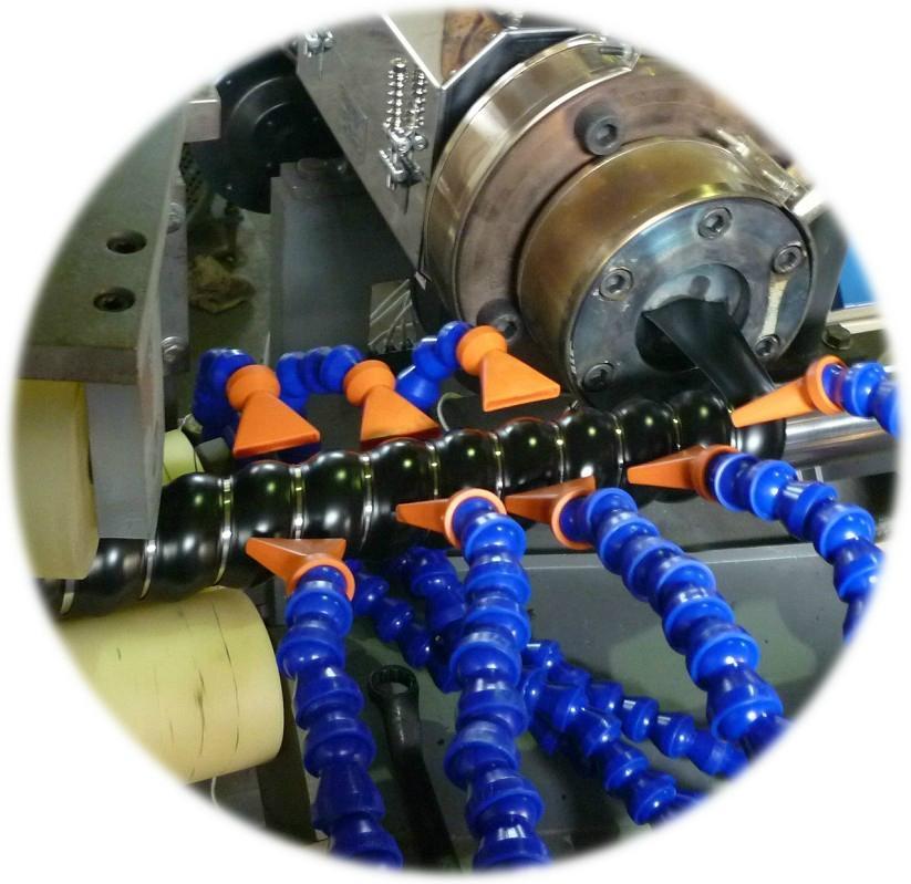 膠管護套螺旋纏繞管生產線 3