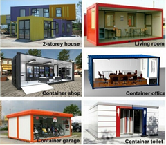 China low cost container house for sale
