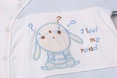 New Born Baby splicing cotton pajamas set