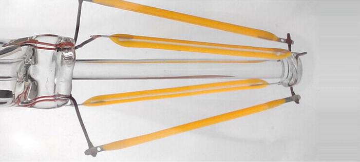 warm white Glass Filament bulb inside LED 3