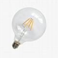 G125 4W LED Filament Bulb 110LM/W