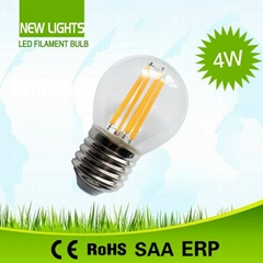 G45 LED Filament Bulbs