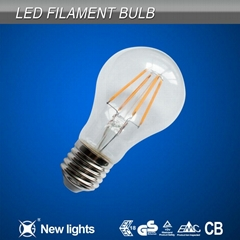 CE and ROHS 4w  E27 LED Filament Bulb