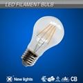 4w e27 A60 led filament bulb