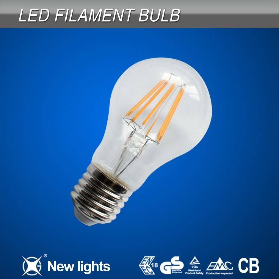 6W A60 Led filament bulb With CE Approved 1