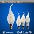 2W E14 C35T Candle LED  filament bulb 2