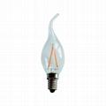 2W E14 C35T Candle LED  filament bulb 3
