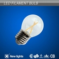 2W E27 G45 LED Filament Bulbs