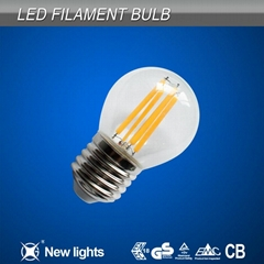 4W E27 G45 LED Filament Bulbs