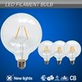 G125 2W E27 LED Filament Bulb 110LM/W 2