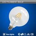 G125 4W E27 LED Filament Bulb