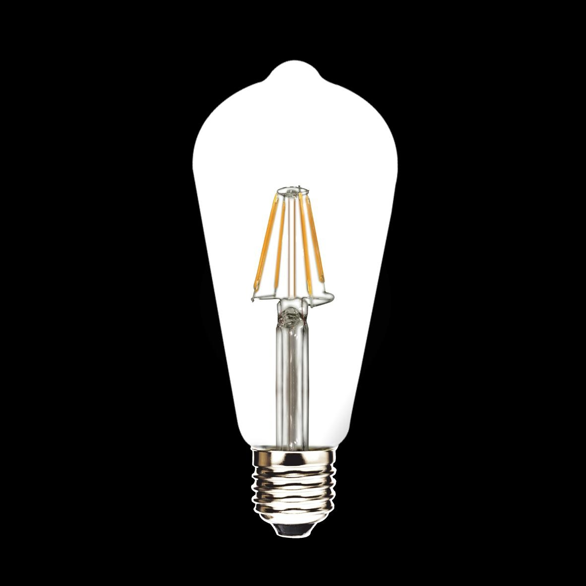 new products E27 ST64 LED Filament Bulbs 2