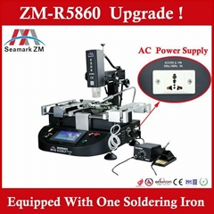 Economical motherboard repair station ZM-R5860 reballing machine for mobile phon