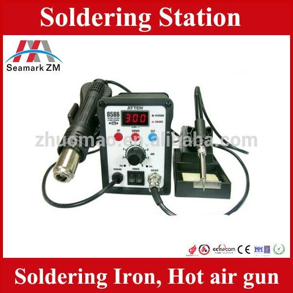 power supply soldering station smt rework station with soldering iron  1