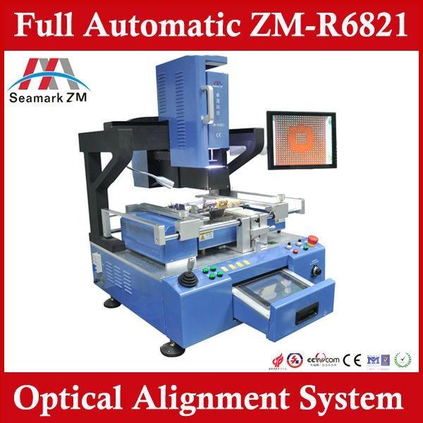 Auto-matical full BGA rework station ZM-R6821pcb motherboard reballing  1