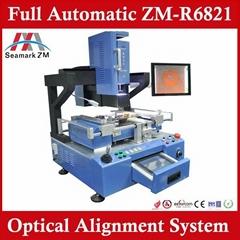 Auto-matical full BGA rework station ZM-R6821pcb motherboard reballing