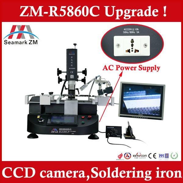 ccd bga rework station ZM-R5860C iphone 5s reballing station  1