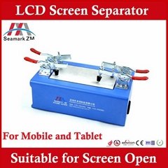 Best price touch screen remover ZM-R100 LCD remove machine