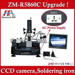 Automatic bga rework station ZM-R5860C mobile motherboard reballing machine