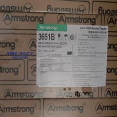 阿姆斯壯噴砂礦棉板雅頓RH99