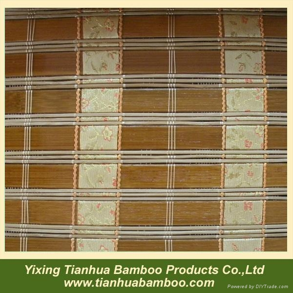 Painted bamboo blind 2