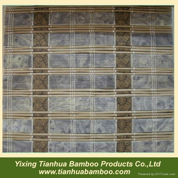 Nature woven bamboo blind 1