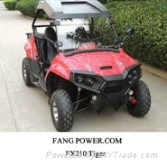 2X4 2WD automatic  transmission 200cc UTV with EPA Certification