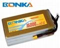 Bonka-16000mah-2S1P-25C muticopter lipo