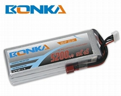 Bonka-5200mah-6S1P-65C RC heli