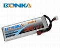 Bonka-4200mah-2S2P-65C rc car lipo  1