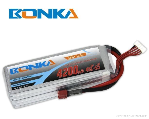 Bonka-4200mah-5S1P-45C  1