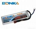 Bonka-5200mah-2S1P-45C rc heli lipo